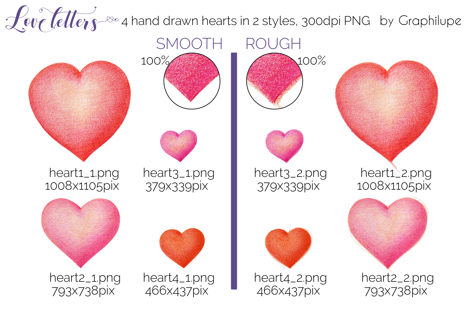 Love Letters - Hand-drawn Illustration Kit example image 2