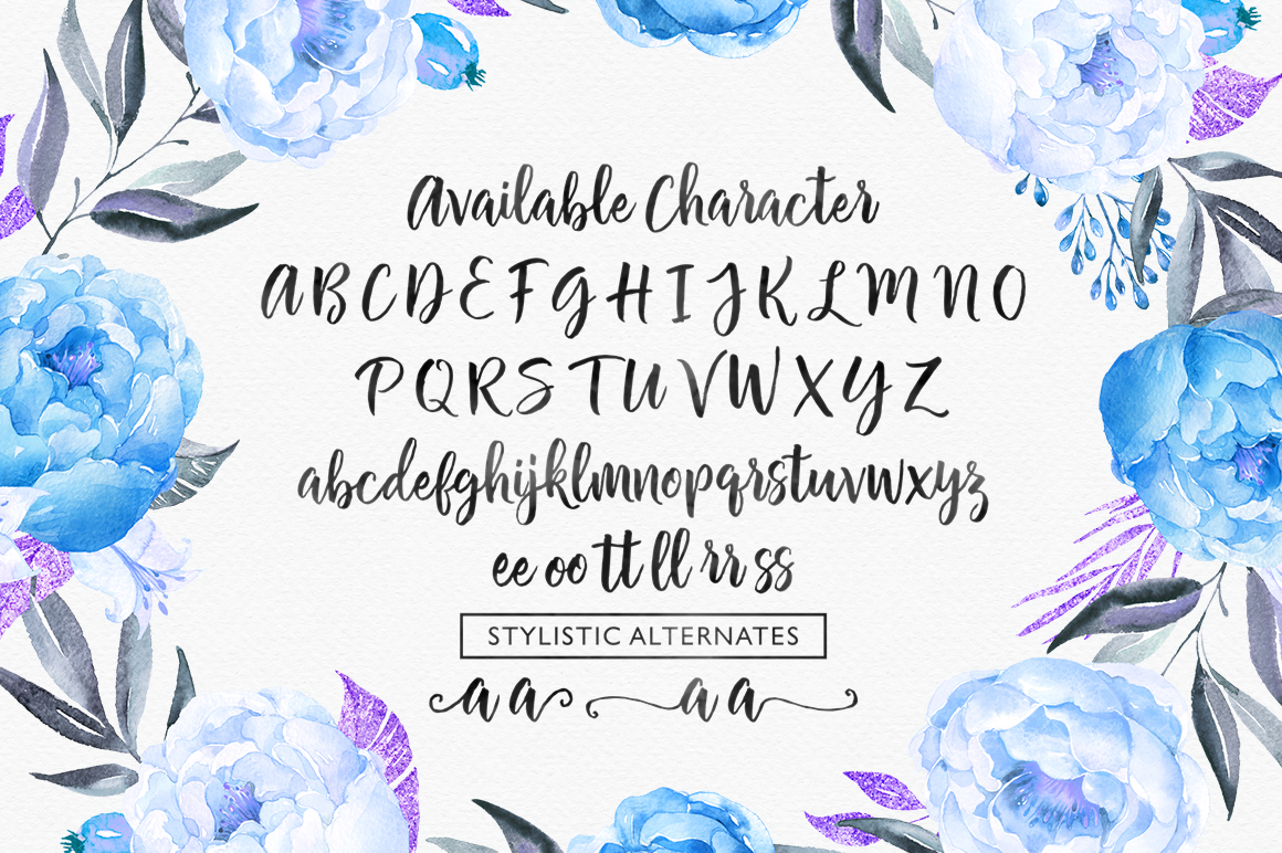 Chamelia Script example image 10