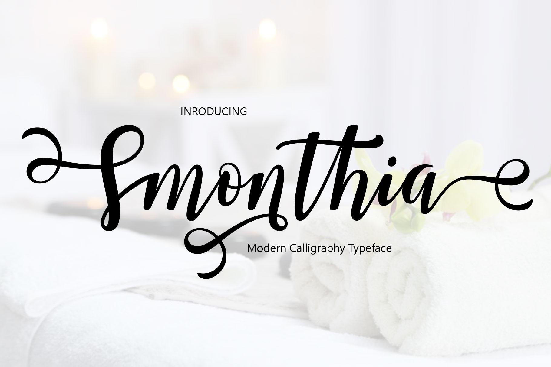 Smonthia Script example image 1