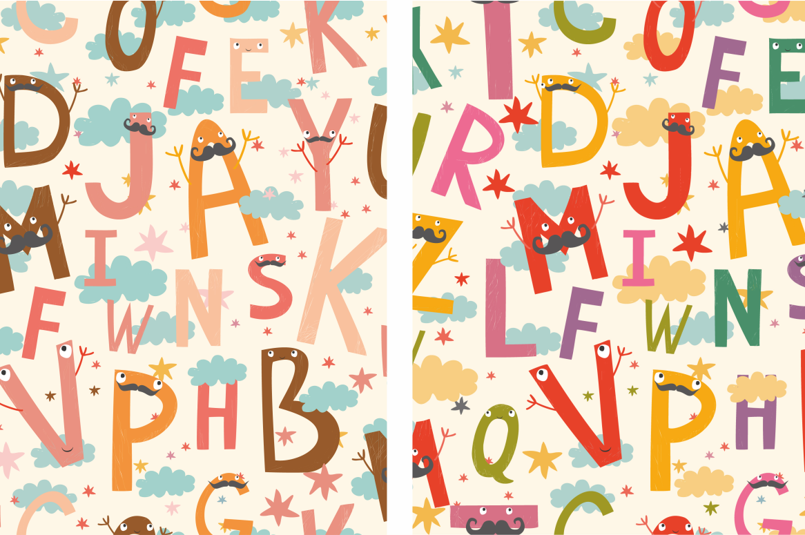 Alphabet for children (vector/png) example image 4