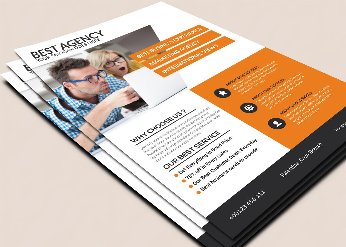 Best Agency Flyer example image 2
