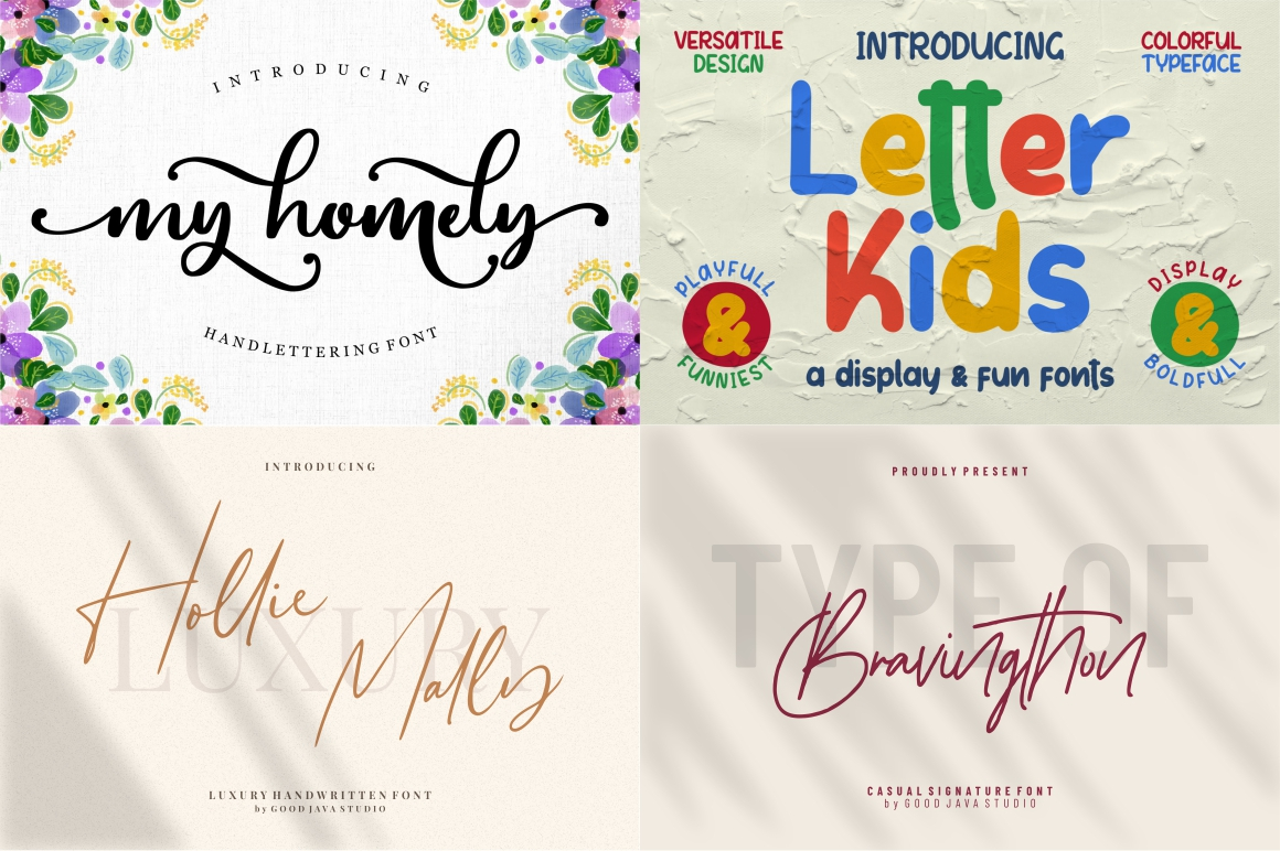 BEST CRAFTER FONT COLLECTIONS example image 10