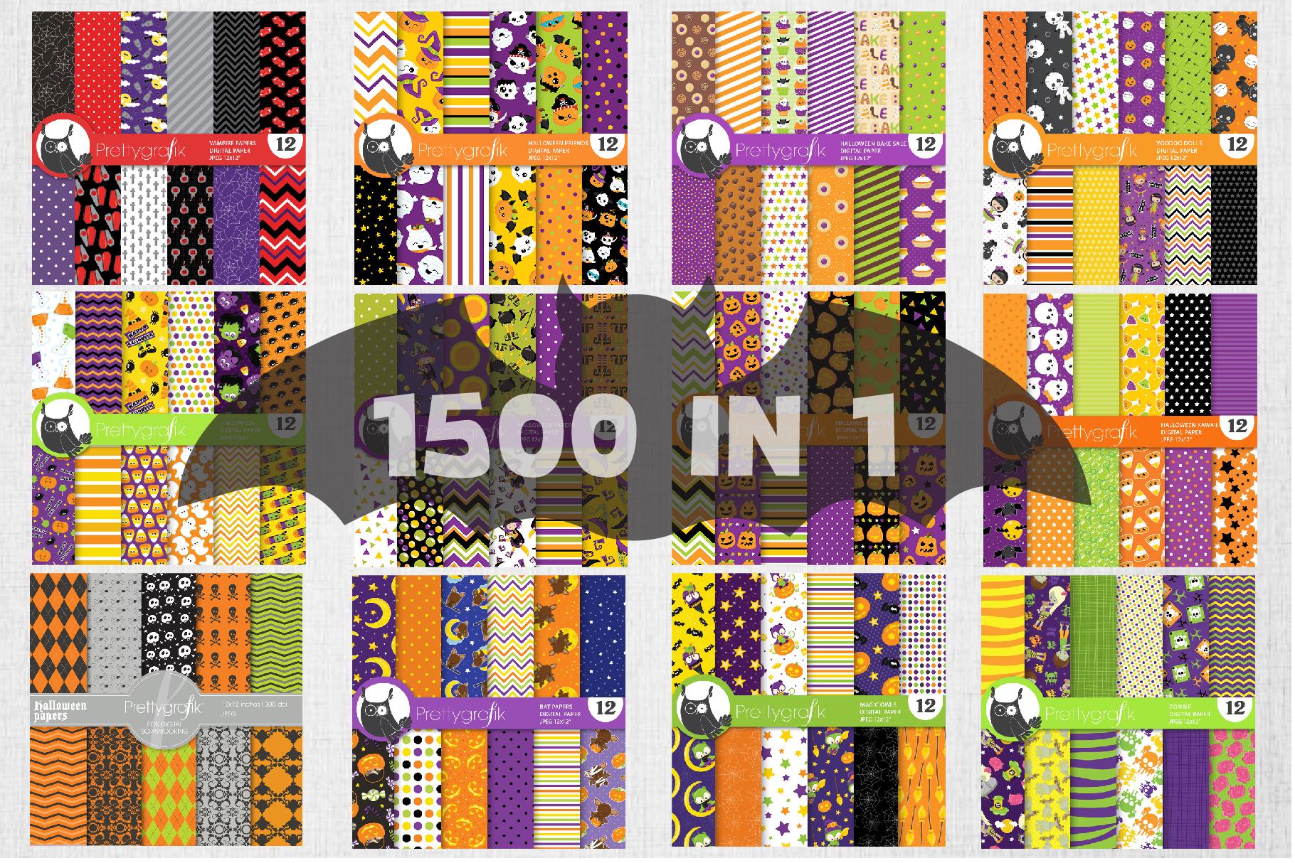 1500 Graphics - MEGA Halloween Bundle - 98OFF example image 7