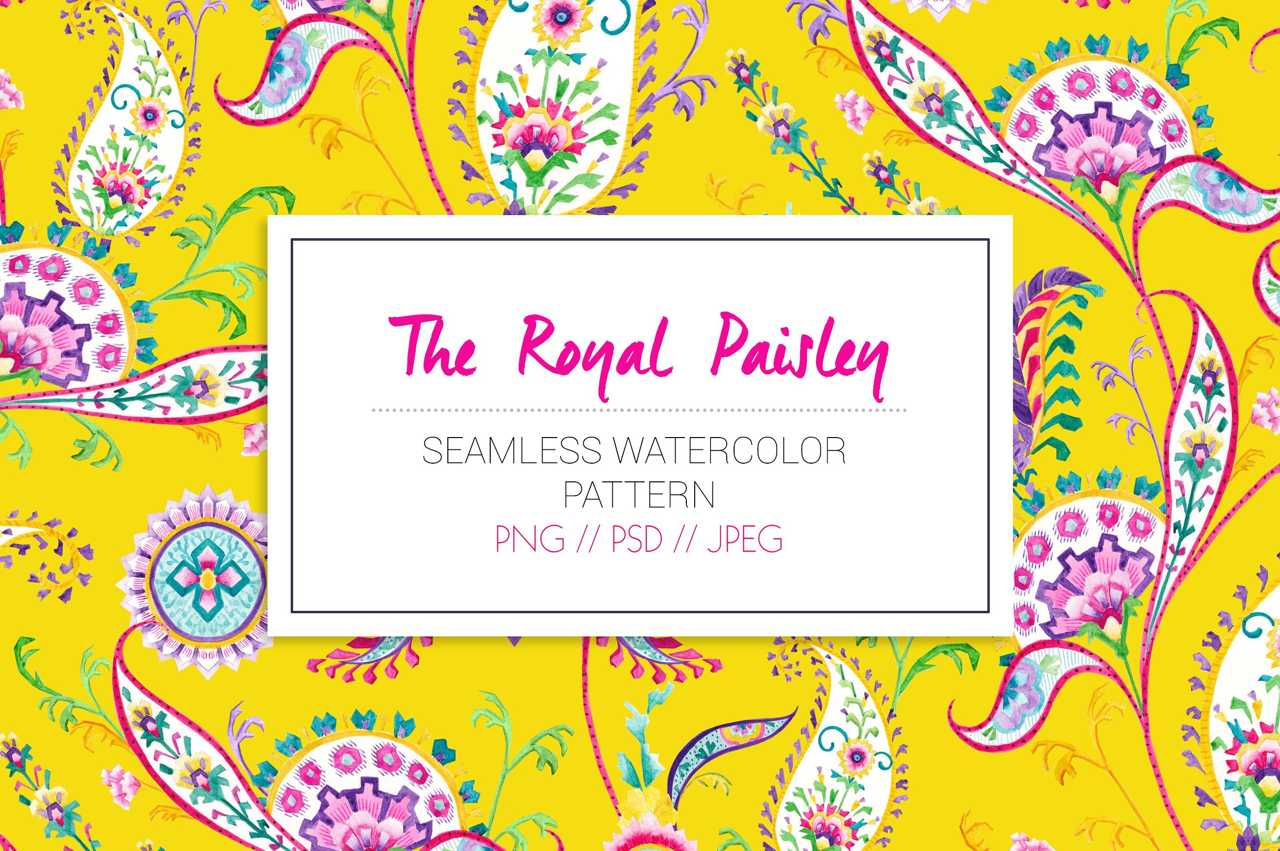 Royal Paisley example image 3