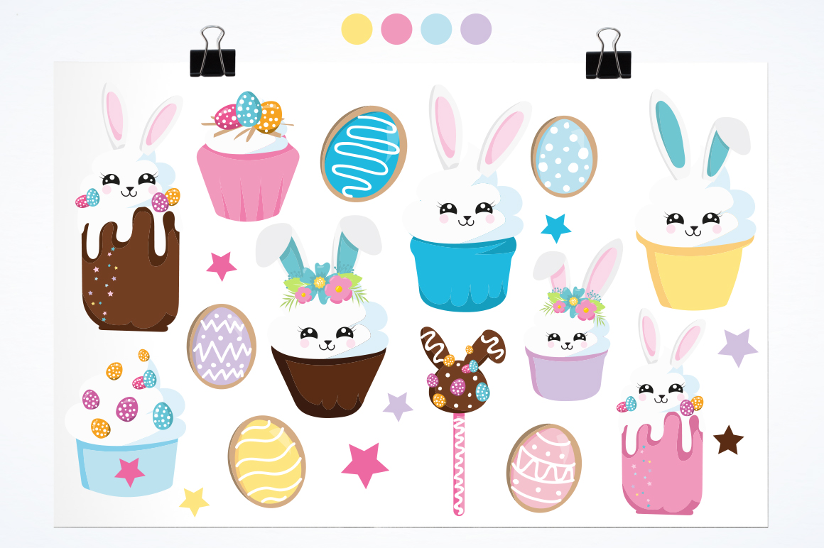 Easter Bunny graphic and illustrations example image 2
