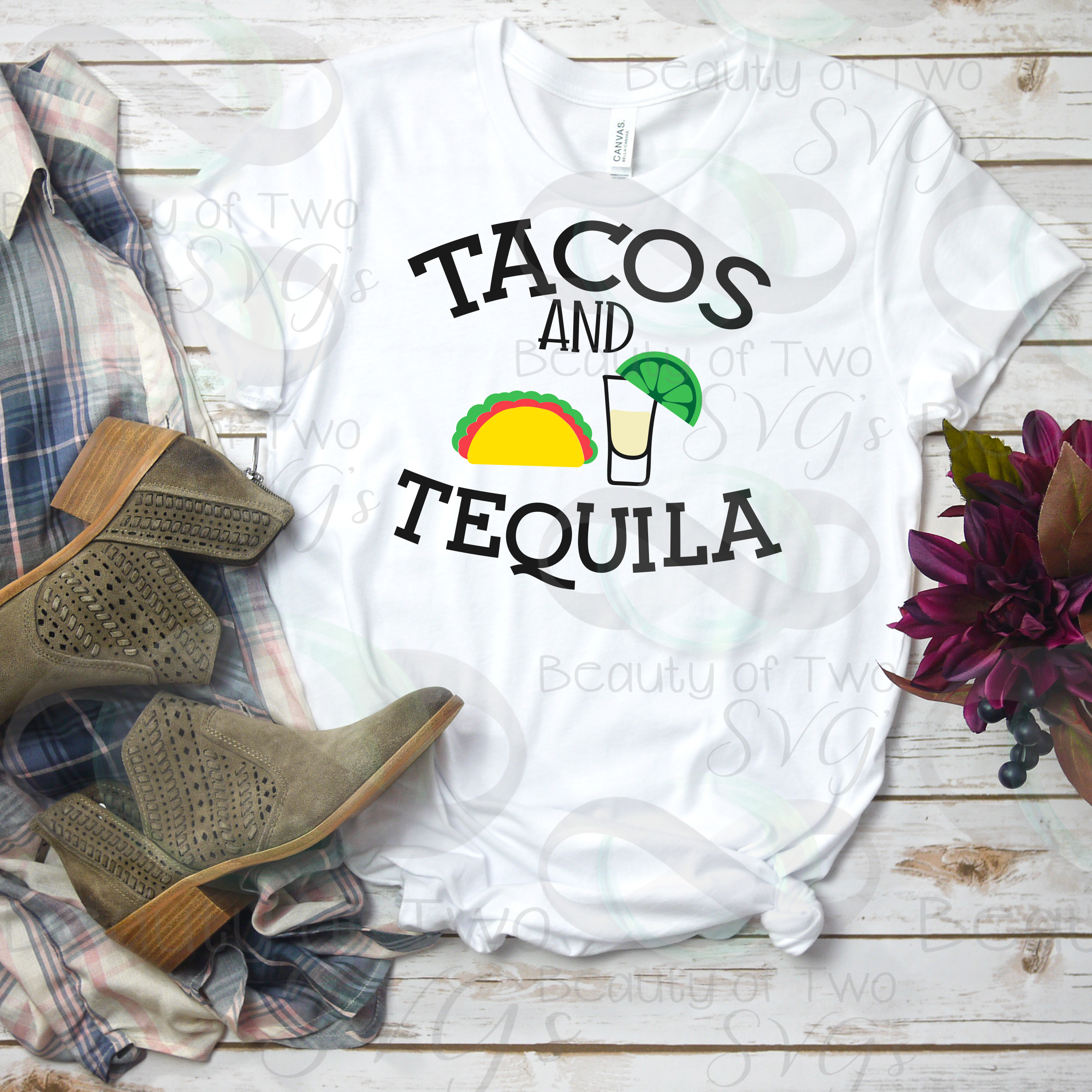 Cinco de Mayo svg & png, Tacos and Tequila svg, taco svg example image 2
