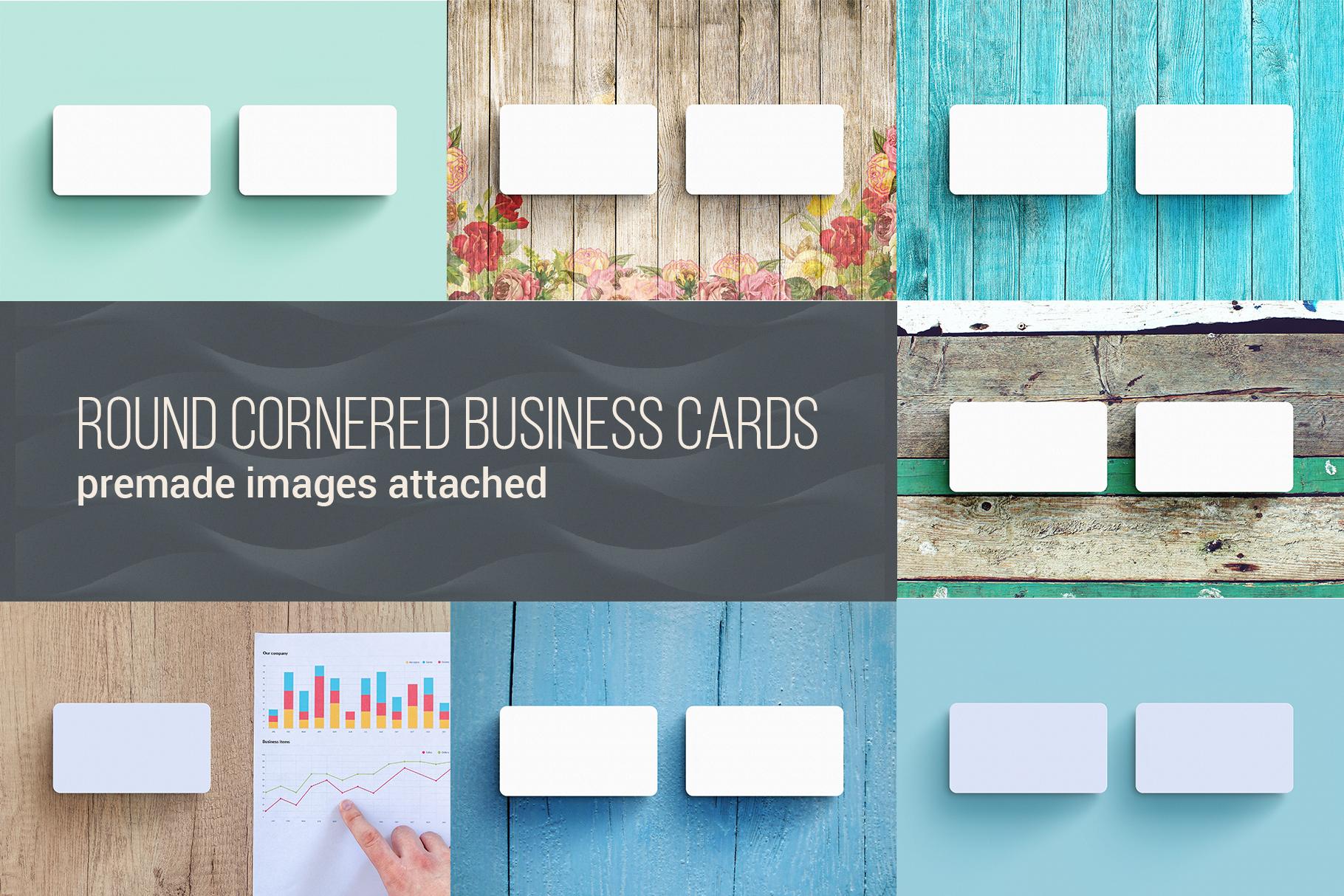 Business Card MockUps Bundle + Bonus example image 3
