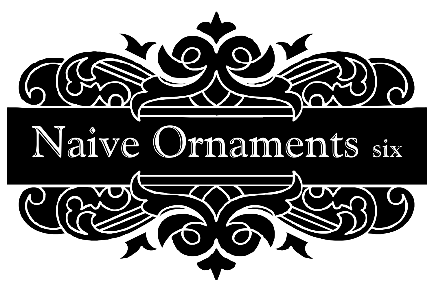 Naive Ornaments Six example image 1