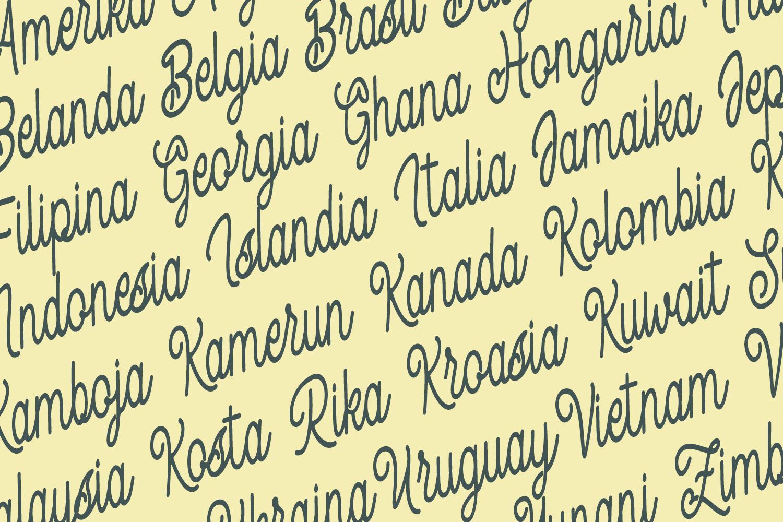 Spandam Vintage Font example image 7