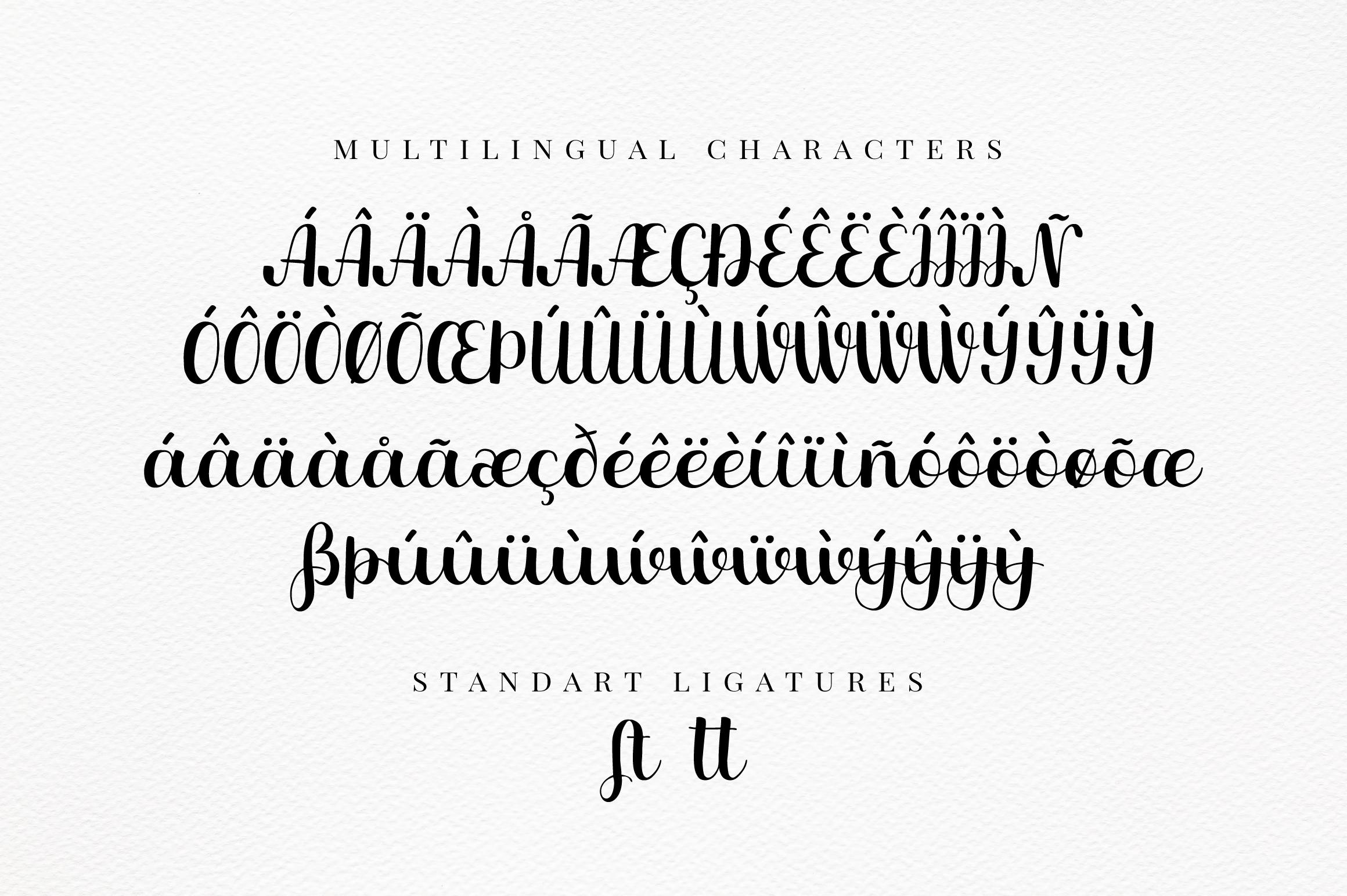 Mandolino - fun script font example image 3