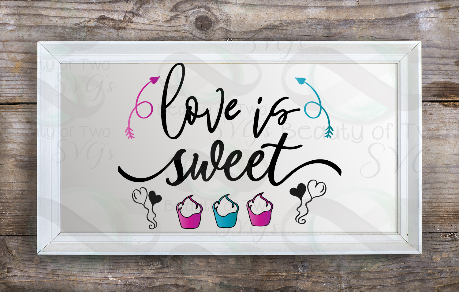 All About Love Svg Digital Sign Bundle, Farmhouse love svg example image 6