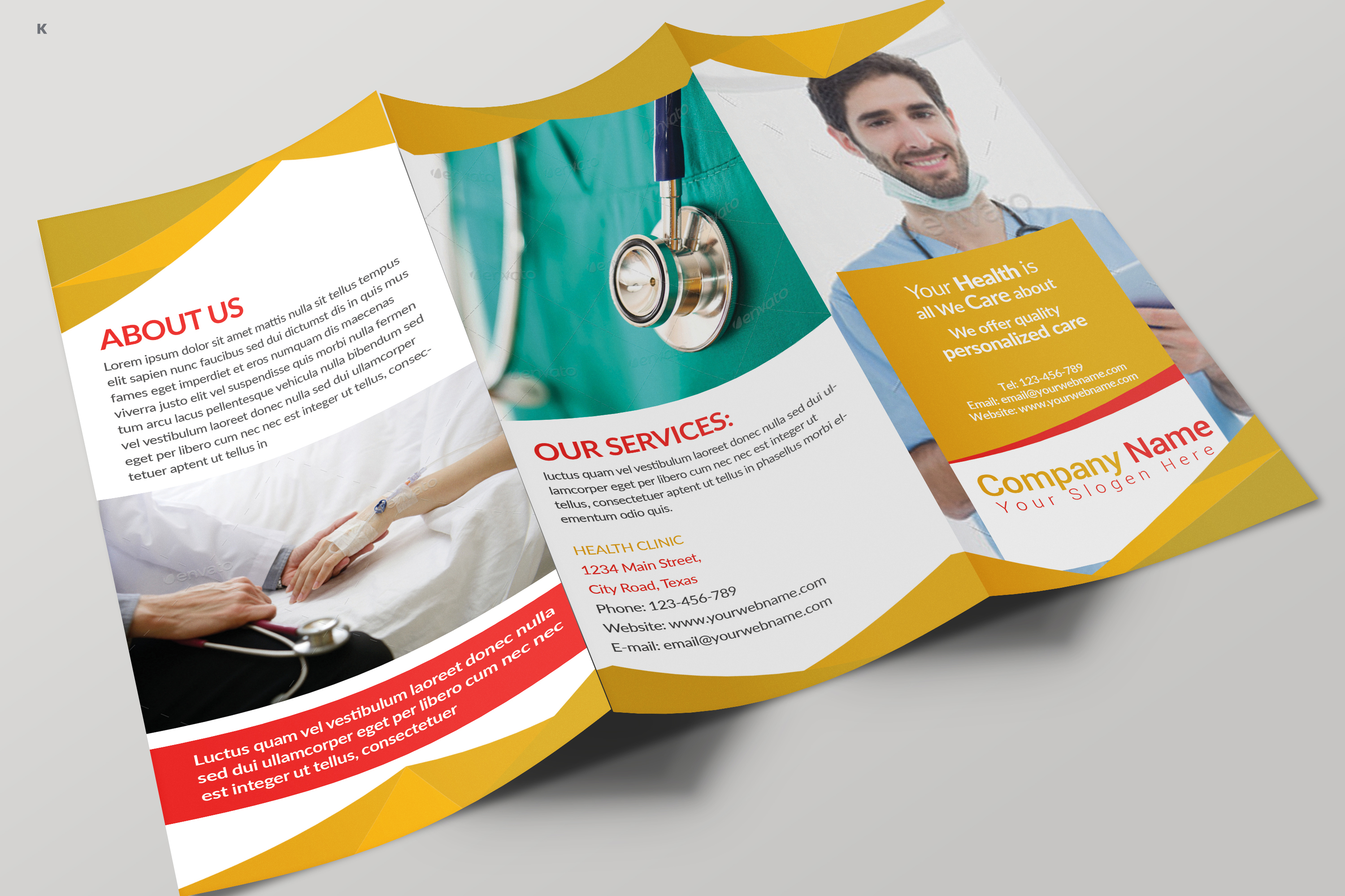 Health Care Trifold example image 8