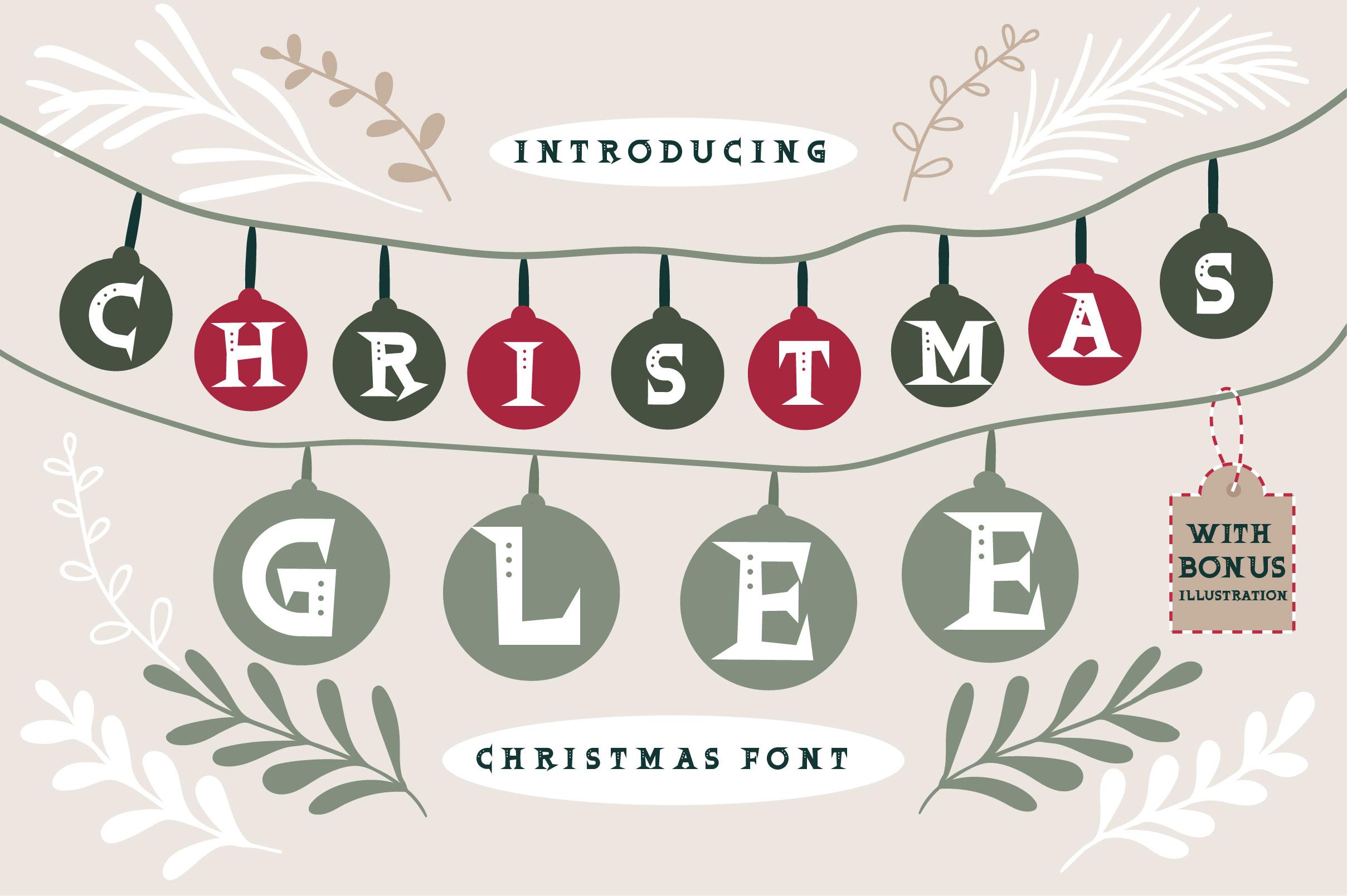 Christmas Glee example image 1
