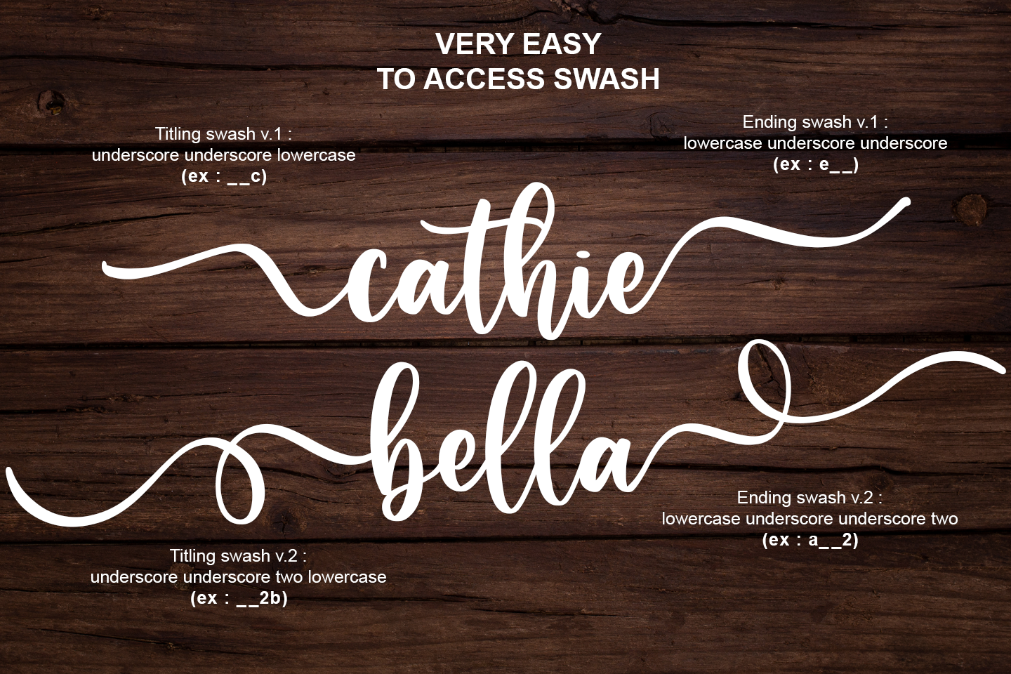 Caristha -bouncy script- example image 2