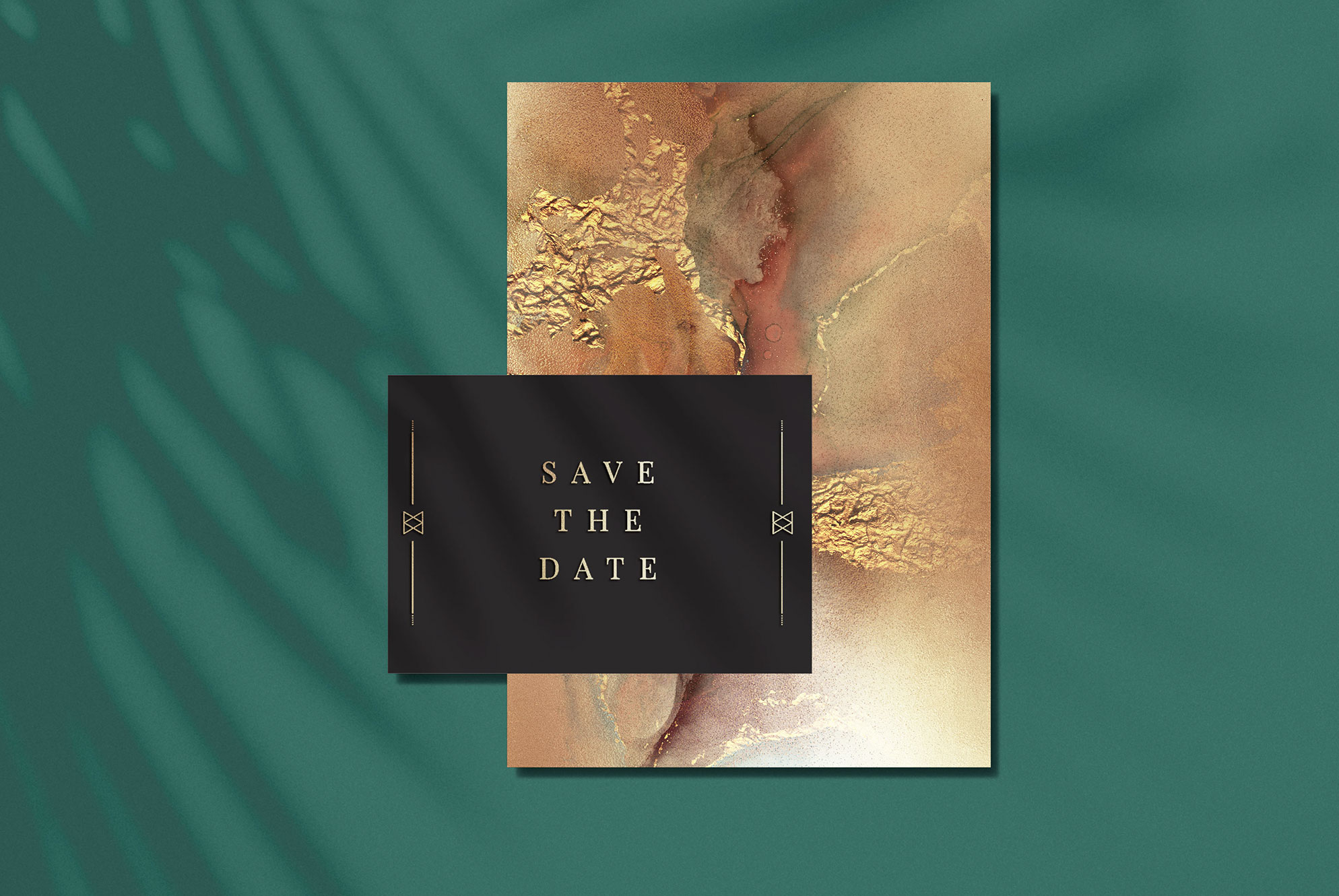 Gold Watercolor and Foil JPG-PNG Textures-BUNDLE example image 9