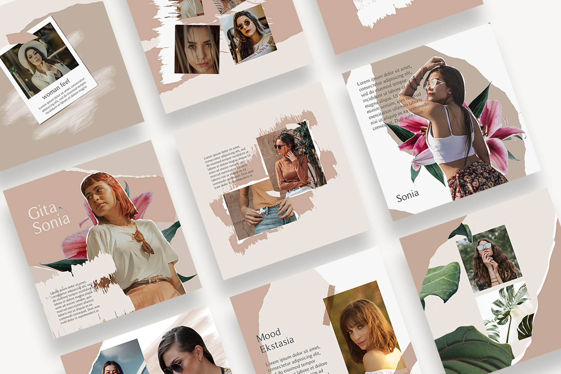 Moody Instagram Templates example image 2