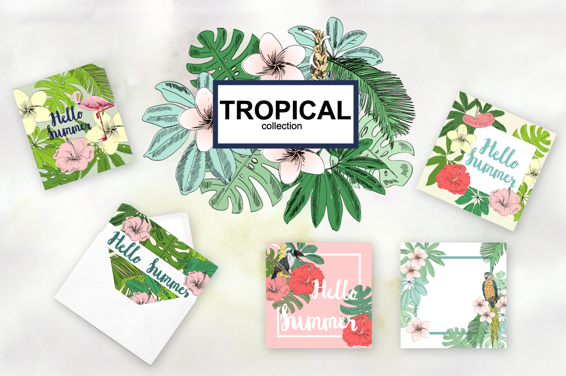 Tropical collection. example image 5