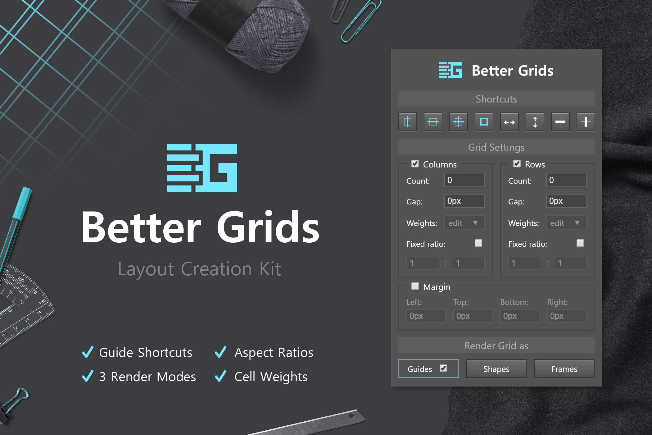 Better Grids - Layout Creation Kit example image 1