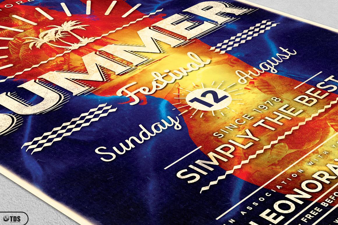 Summer Fest Flyer Bundle example image 9