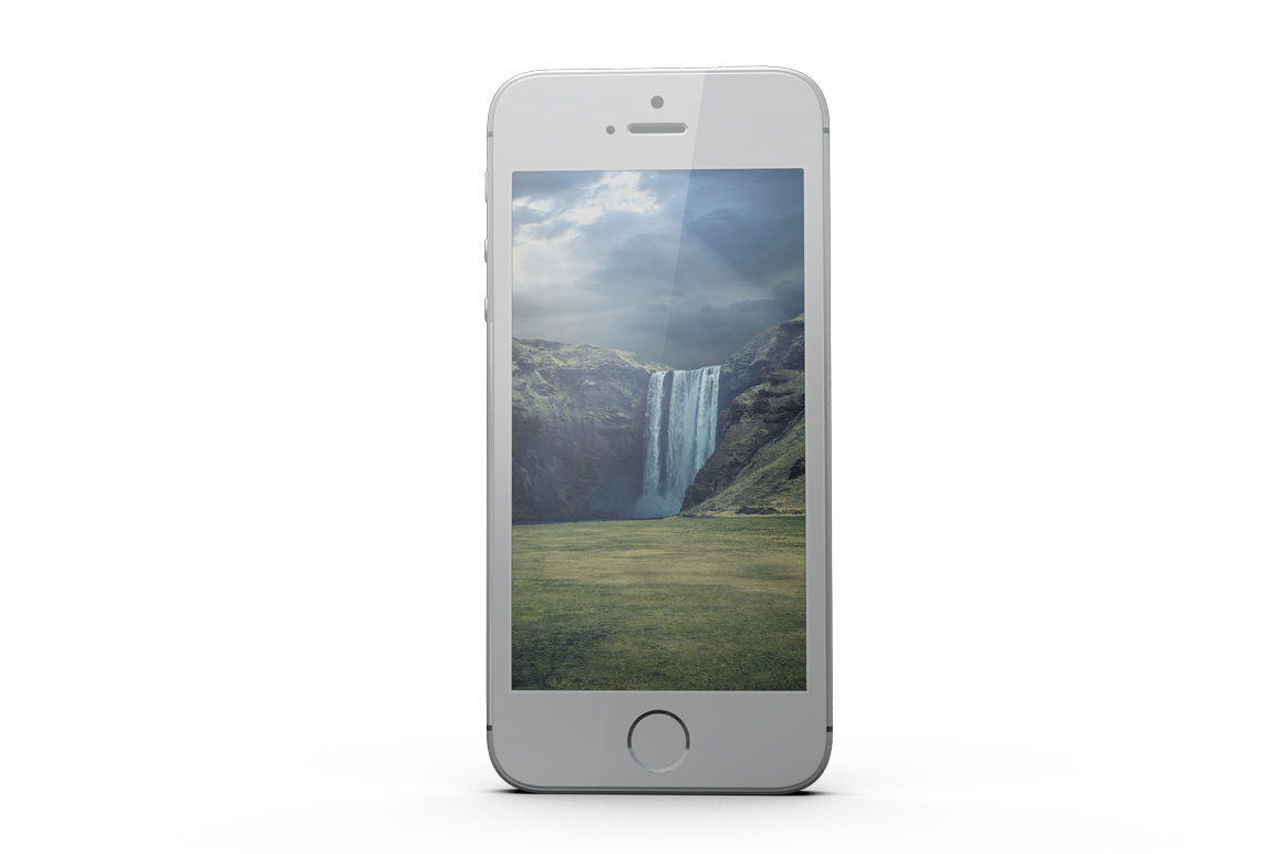 iPhone SE Mockup example image 14
