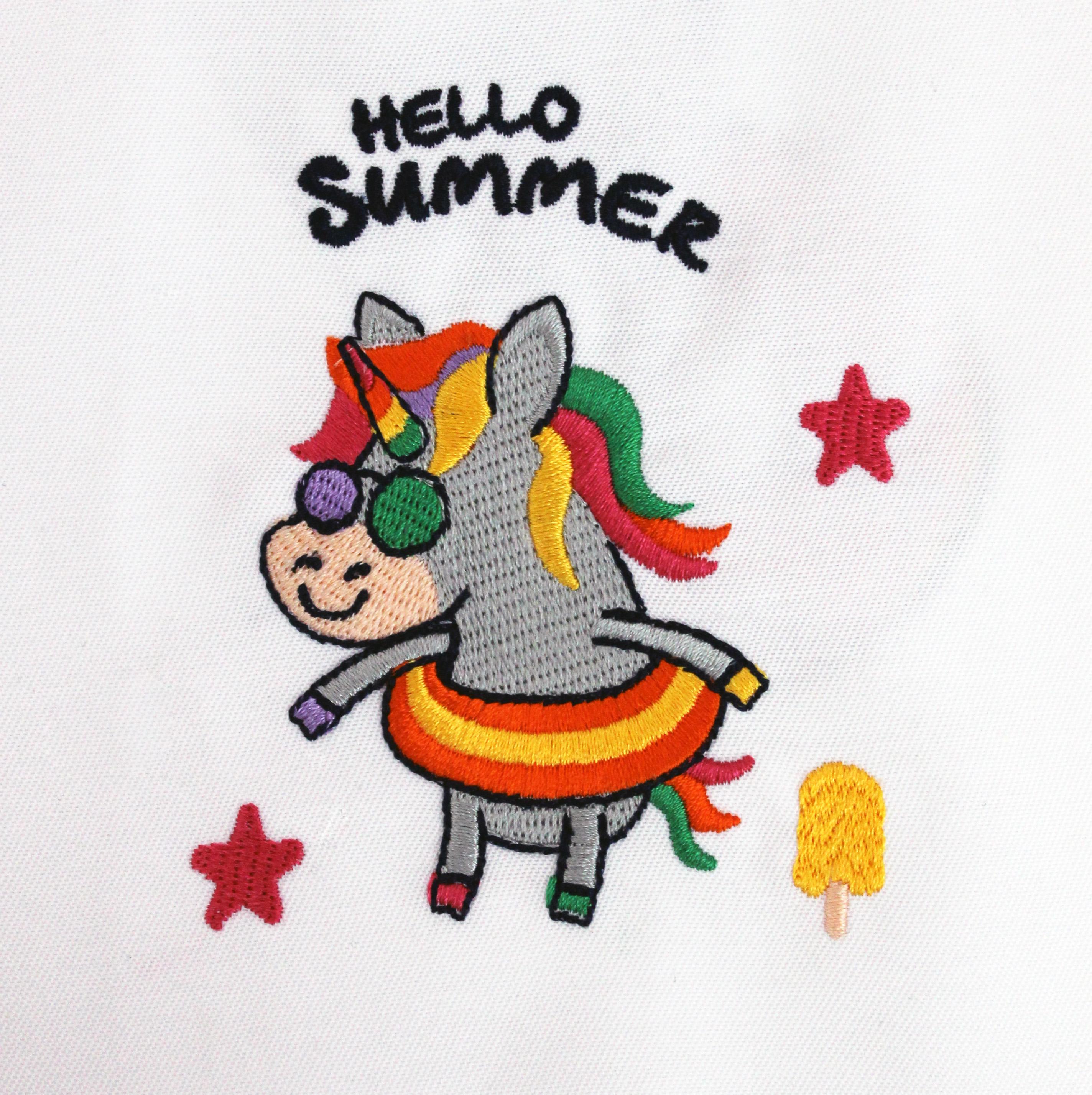 9 Unicorn Machine Embroidery Designs example image 13