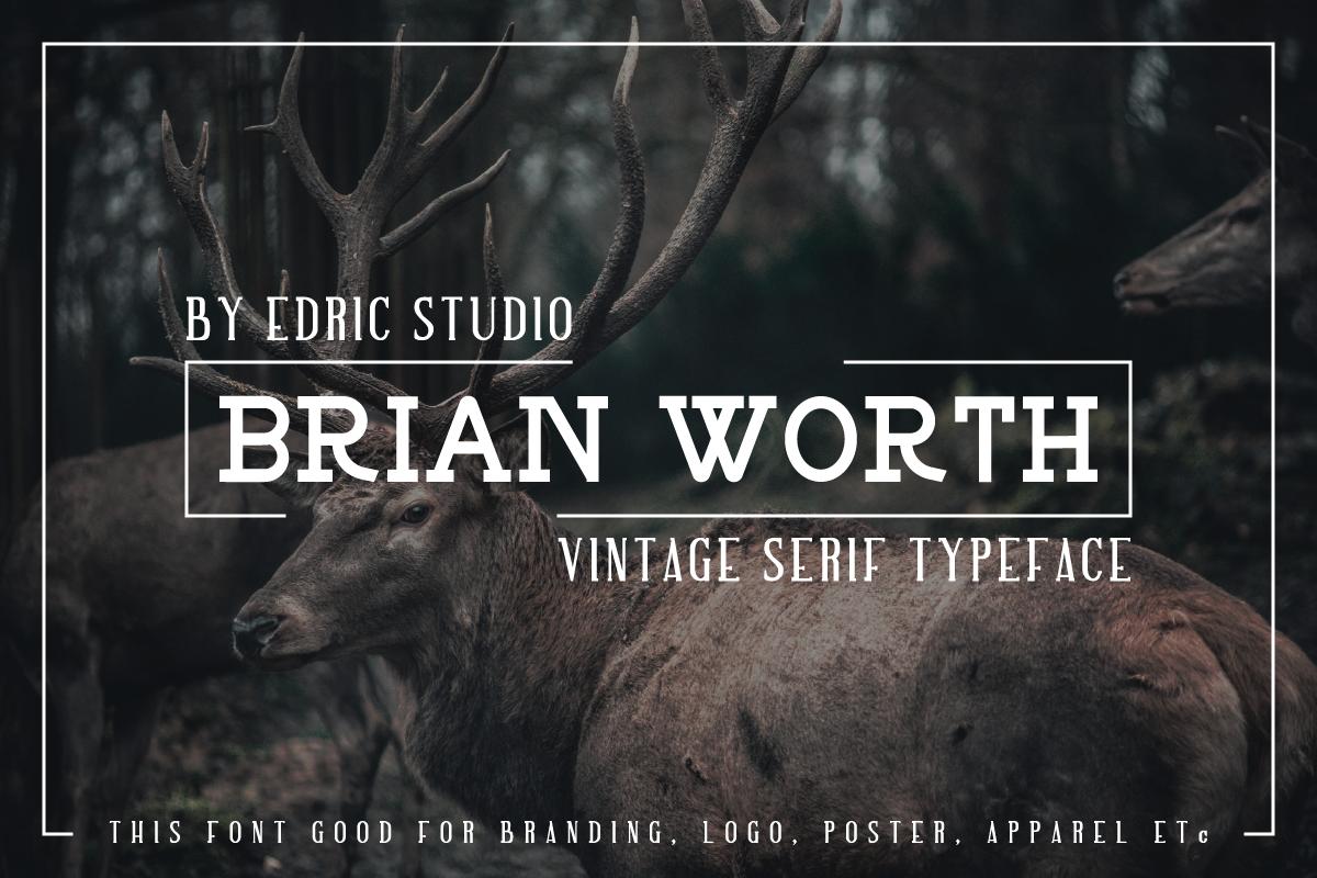 BRIAN WORTH example image 2