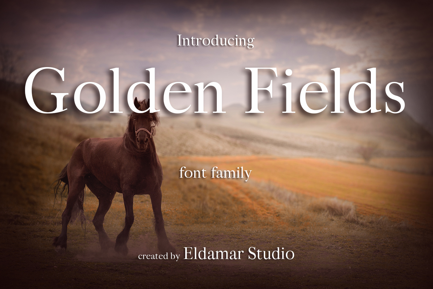 Golden Fields Font example image 1
