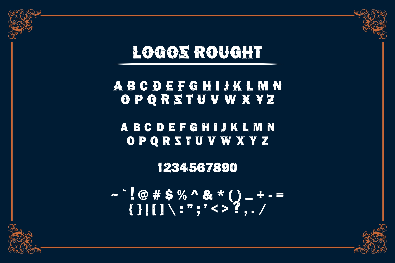 LOGOS | 5 Font Logo example image 12