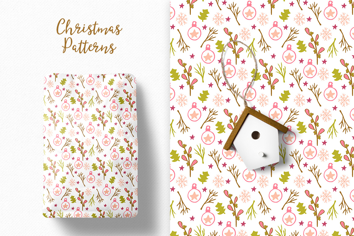 Christmas Pattern Collection example image 6
