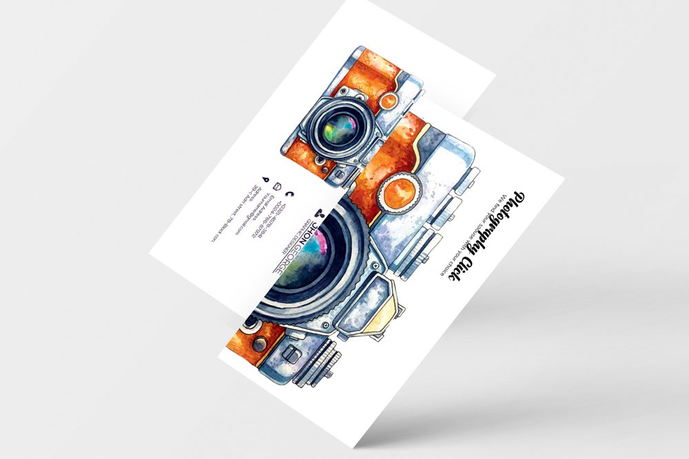 Photography Business Cards example image 2