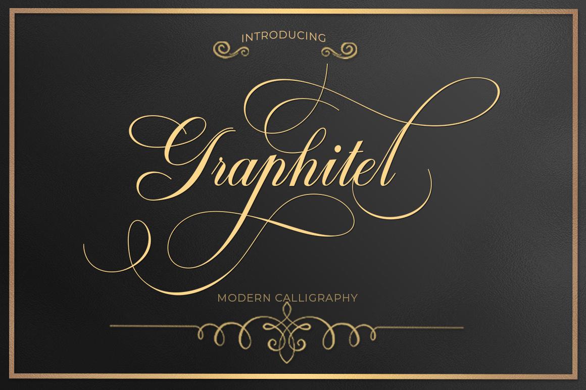 Modern Script Font Bundle example image 9