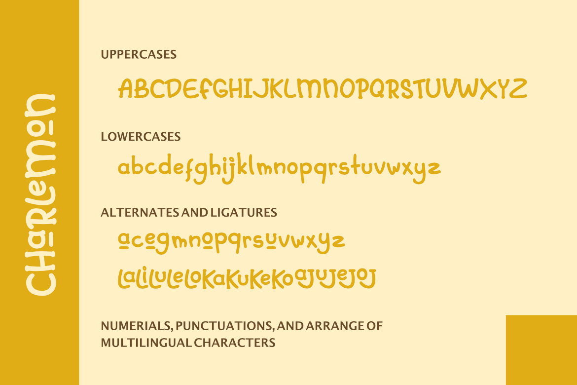 Charlemon Cute Font example image 7