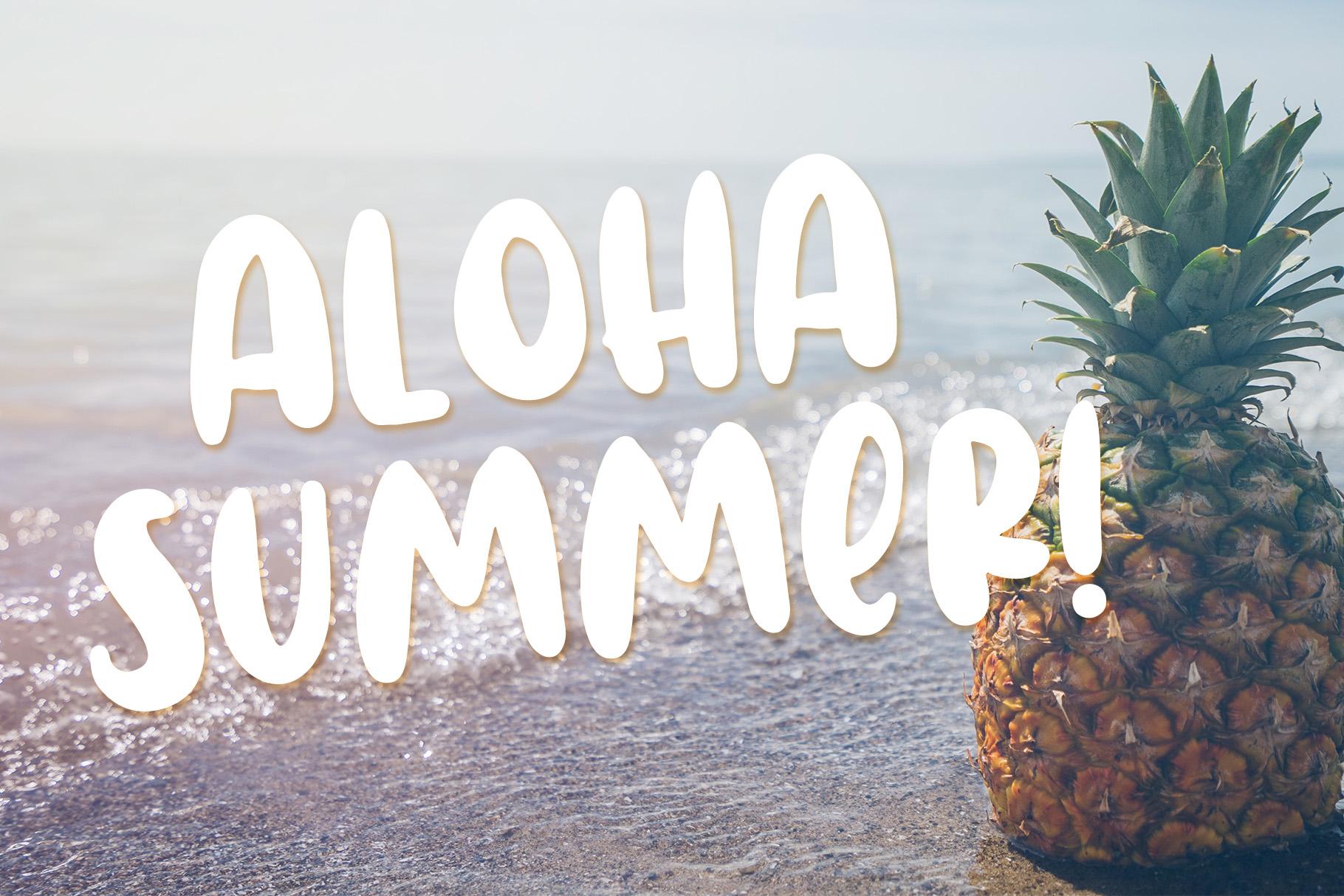 Amigos - Summer Font example image 6