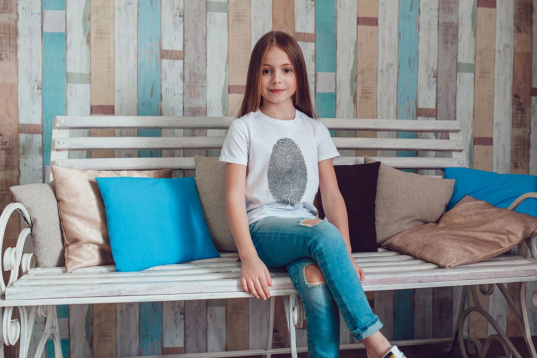 Kids T-Shirt Mock-Up Vol.1 2017 example image 4