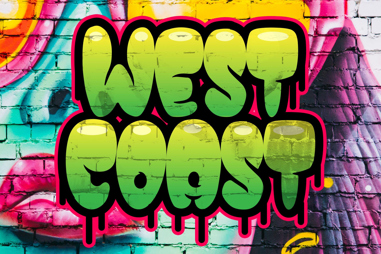 Street Pops - Graffiti Typeface example image 2