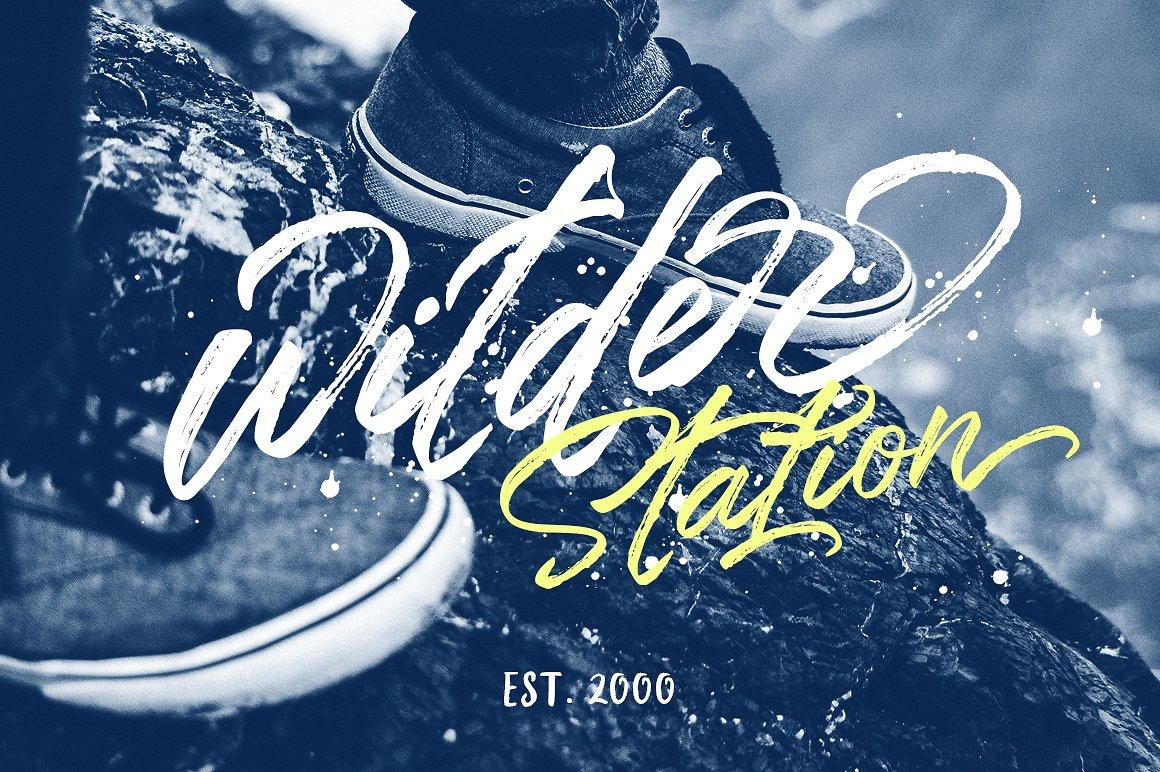 Styledeep Brush Typeface example image 5