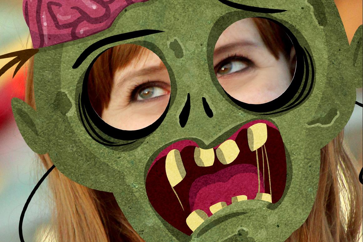 19 Classic Halloween Masks example image 4