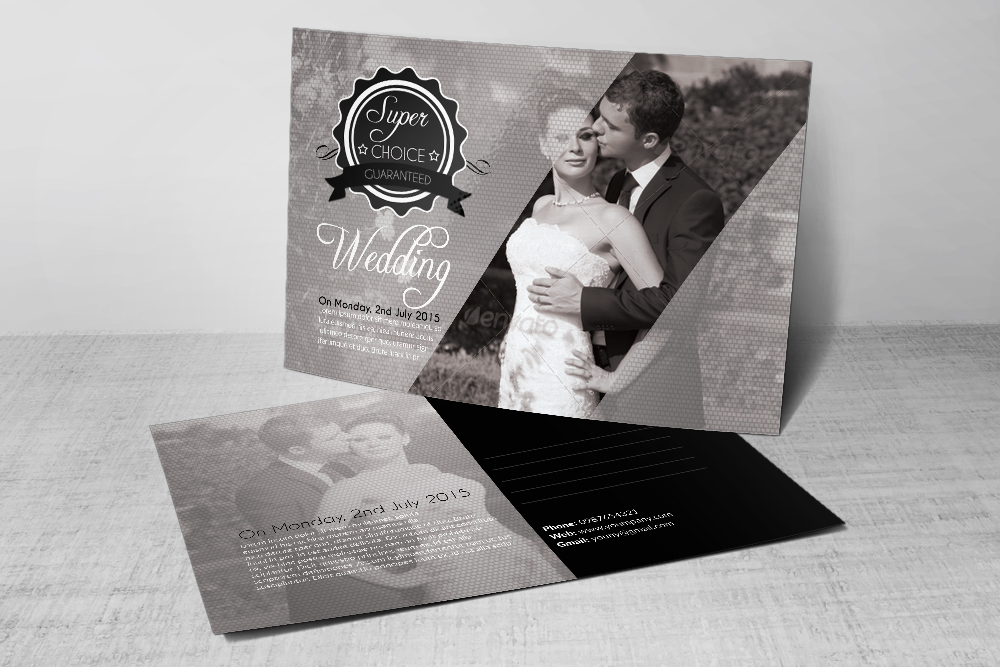 Wedding Invitation Postcards example image 3