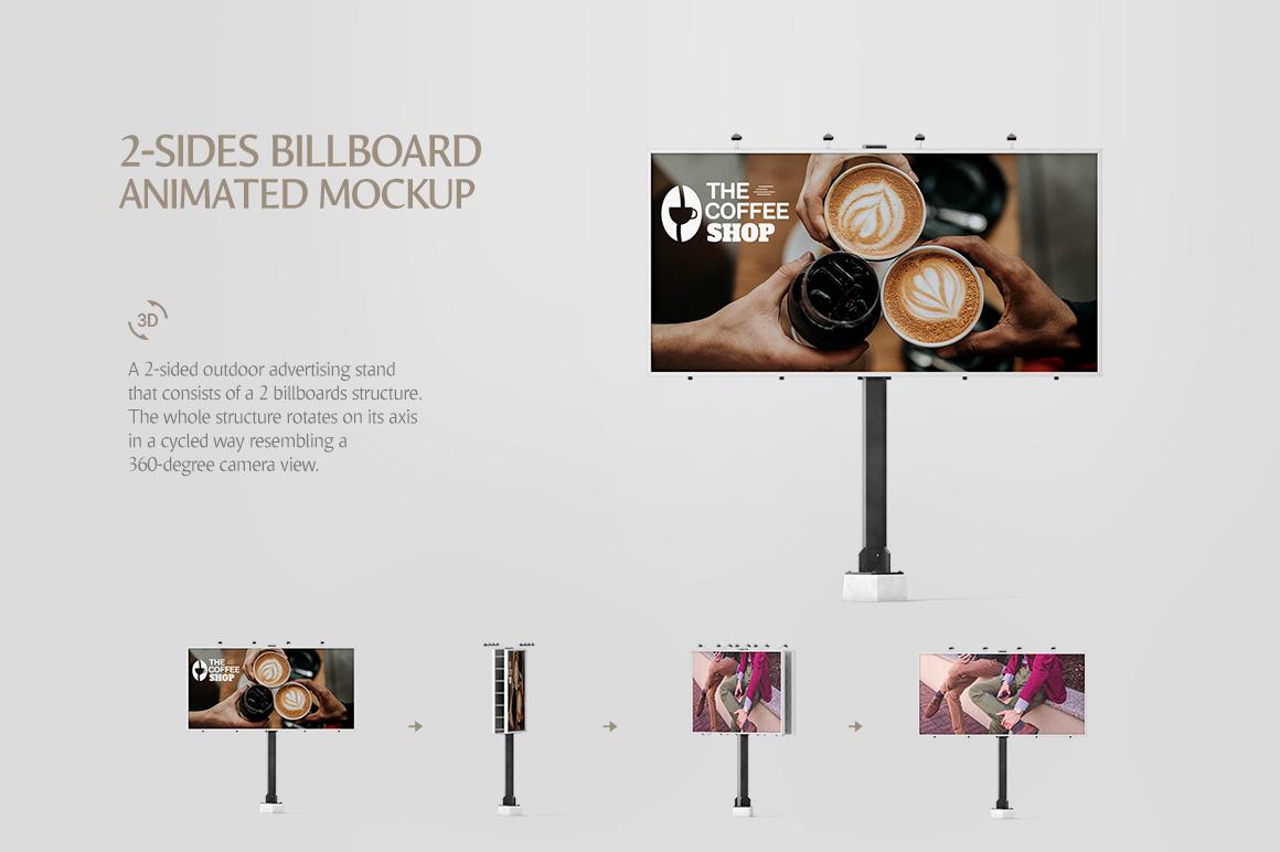 Billboard Animated Mockups Bundle example image 7