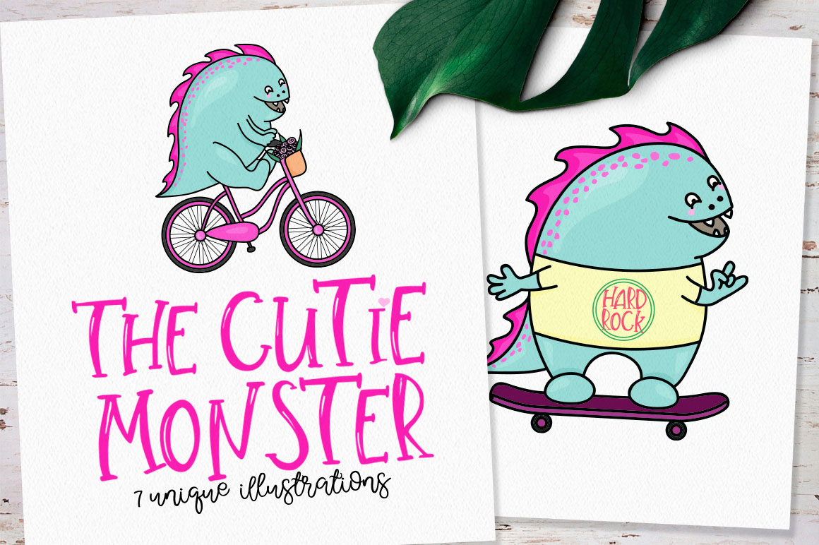 The Cutie Monster example image 1