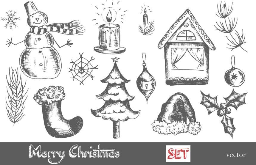 BIG Merry Christmas set. example image 3