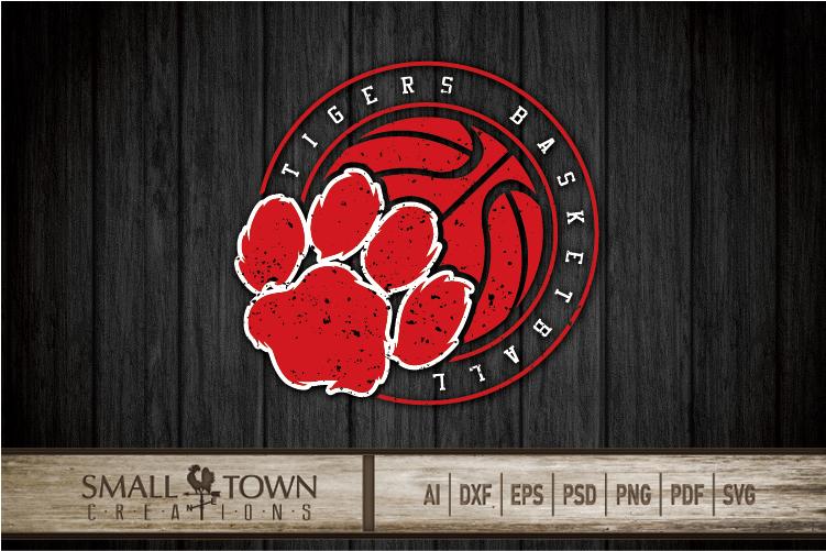 Tigers basketball, tiger mascot, team, PRINT, CUT, DESIGN example image 10