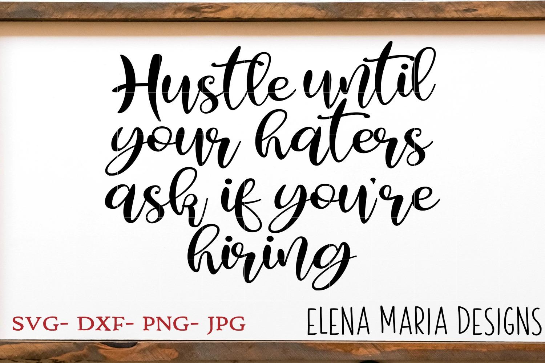 Hustle SVG Bundle, 10 SVG Designs example image 6
