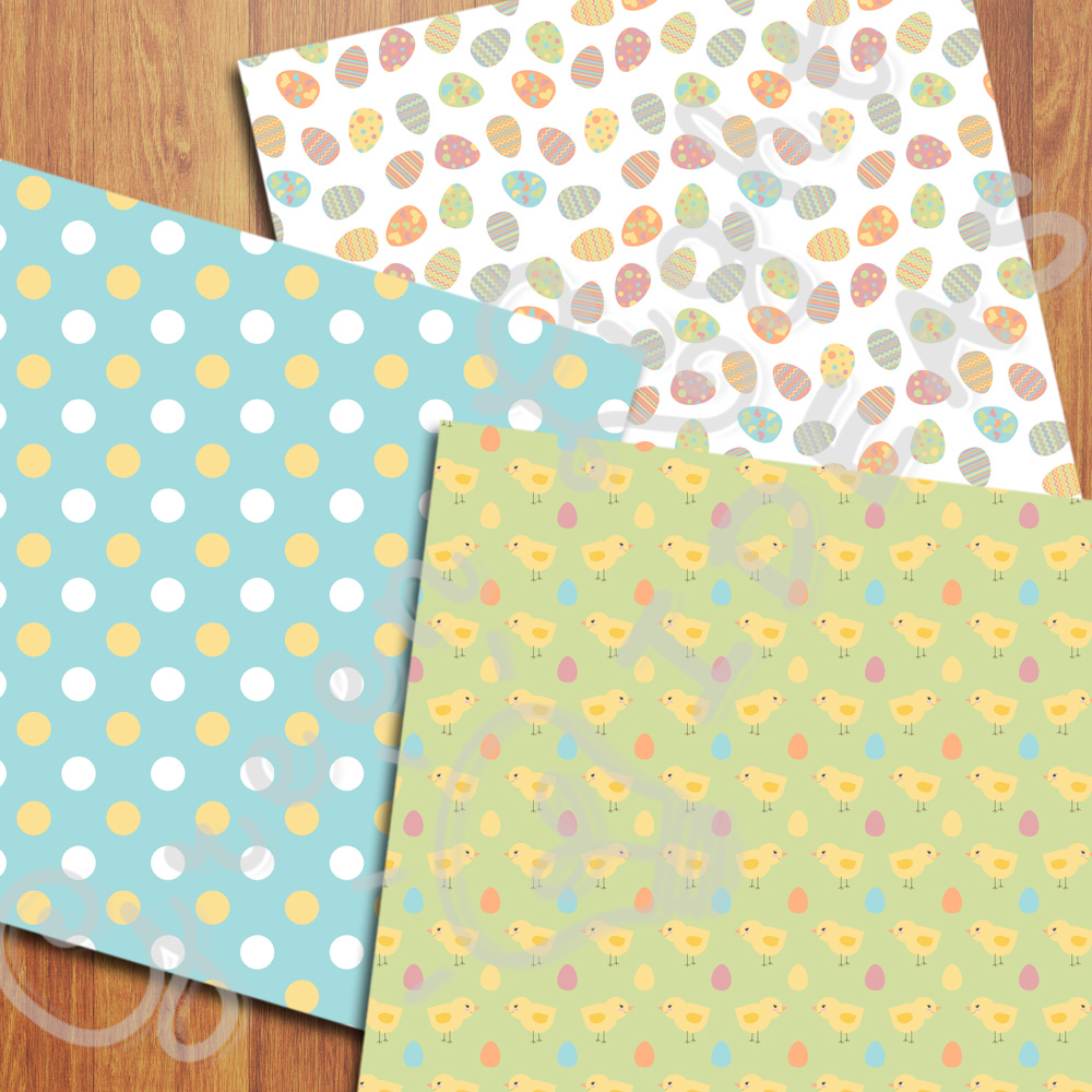 Easter Digital Papers example image 5