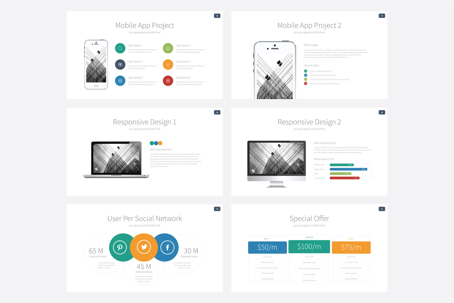 Phylox Powerpoint template example image 16