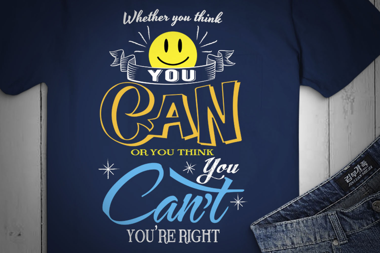 Whether You Think You Can Or You Think You... SVG Design example image 2