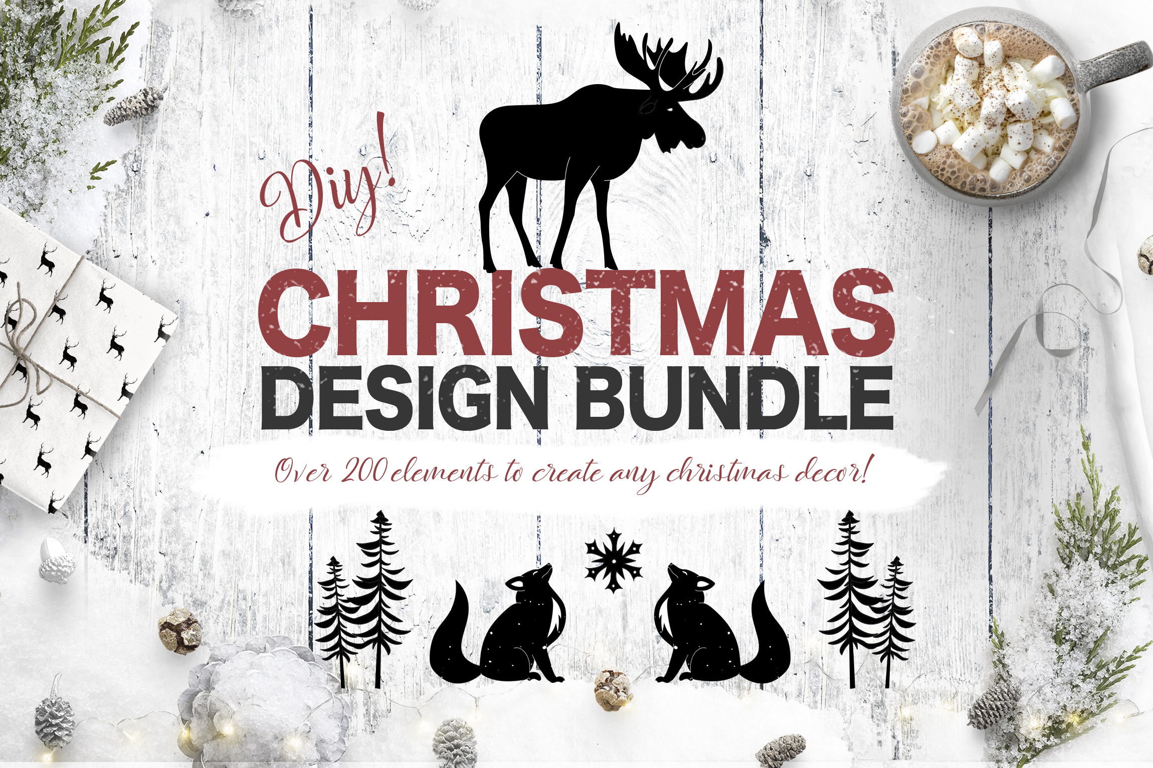 Christmas Design Bundle DIY example image 1