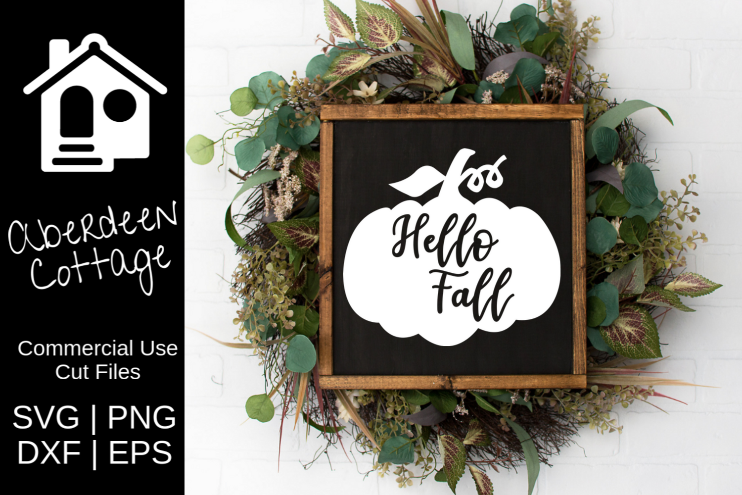 Hello Fall SVG example image 1