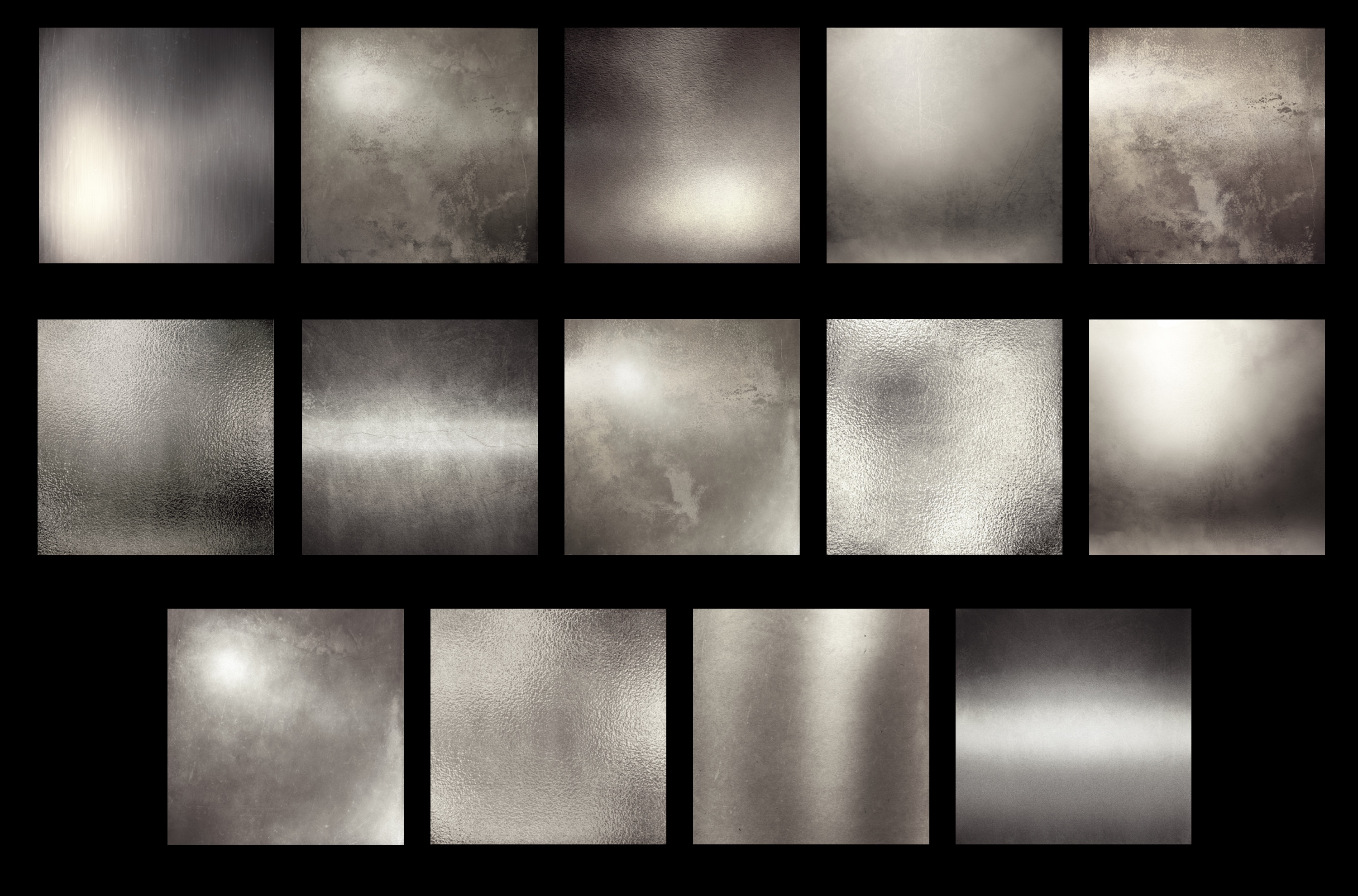 Antique silver textures example image 2
