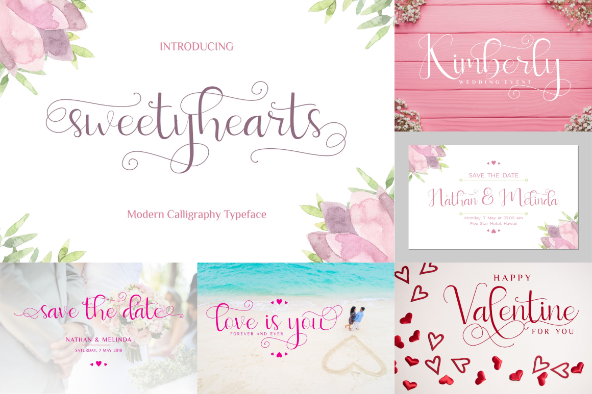 Best Crafting Font Bundles! 126 Fonts ! example image 9